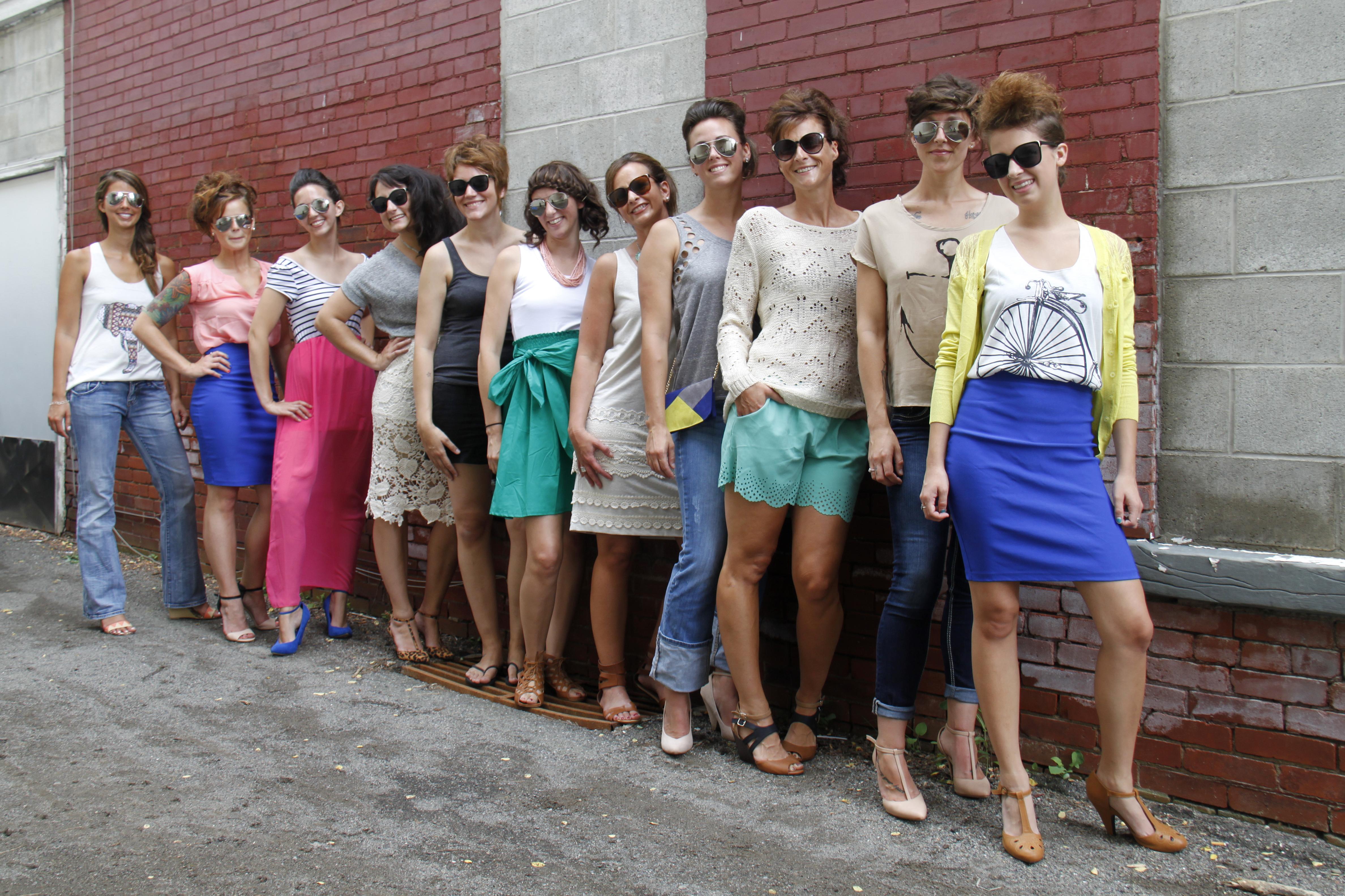 Erica D., Erica M., Kaitlin, Liz, Megan, Kathy, Angela, Kristy, Heather, Kelley & Emily 01
