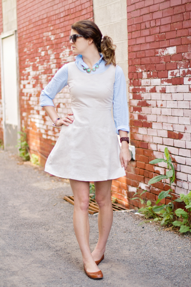 Wear it pair it the canvas dress trend addictions blog for What to wear over a sleeveless dress to a wedding